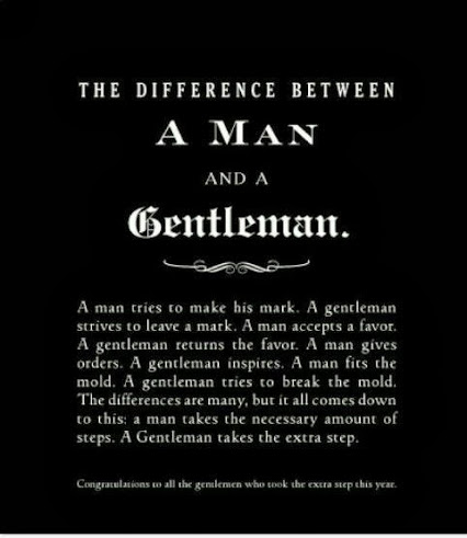Man vs Gentleman